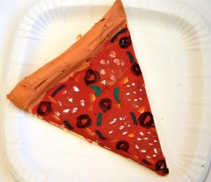 Pizza, par Emmeline, 9 ans