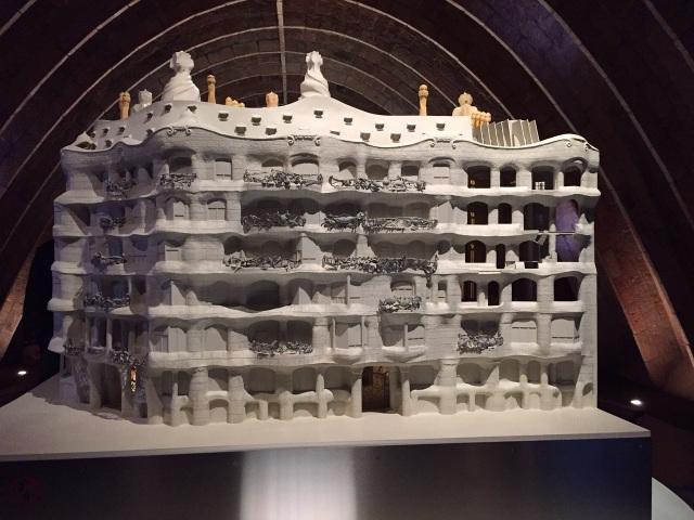 Maquette Casa Milà (La Pedrera), Barcelona
