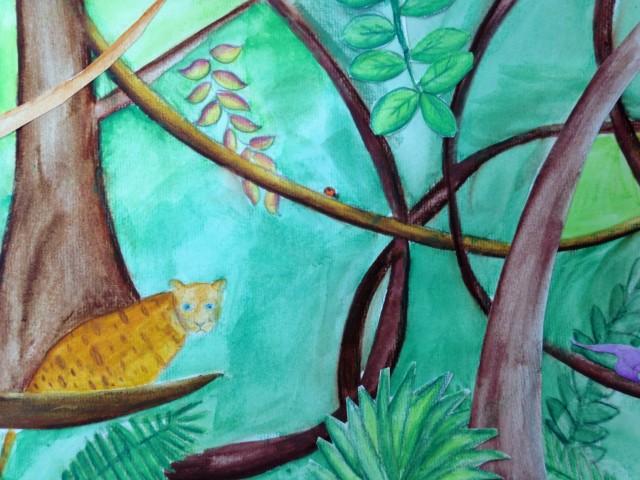 la jungle de Maja