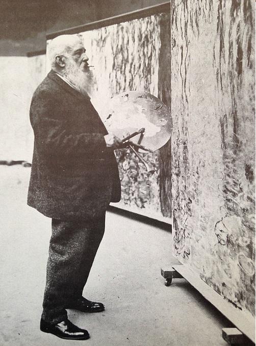 Monet à l'âge de 80 ans, crédit photographique Roger-Viollet