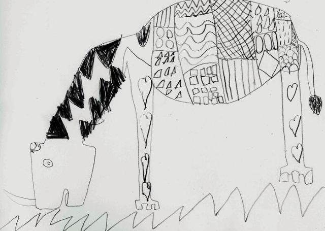 Rhinocéros par Gregorio