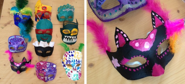 stage masques