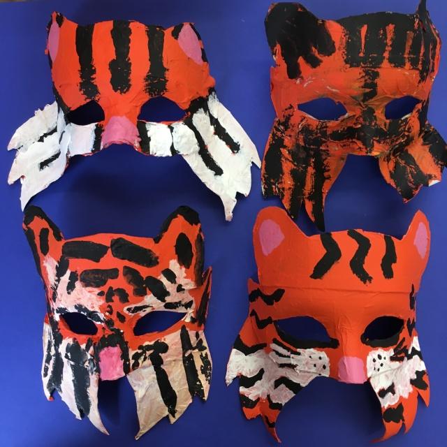 masques-tigres